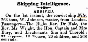 Perth Gazette 8 January 1858