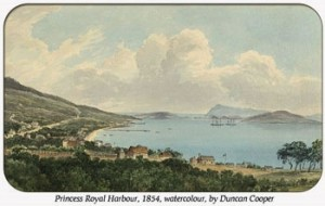 Clark Princess Royal Harbour 1854