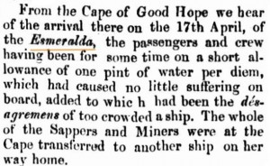 1856 Esmeralda [Perth Gazette 15 Aug 1856]