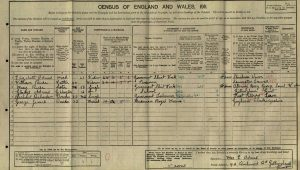 Ruse William 1911 Census