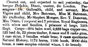 1858 Dolphin [Inquirer 3 Feb 1858]