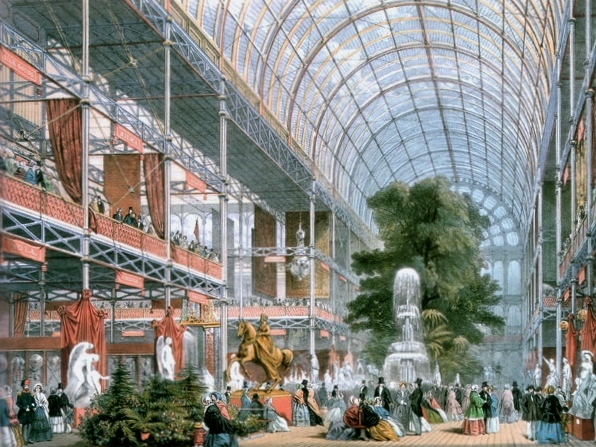 Great Exhibition Crystal Palace Dome