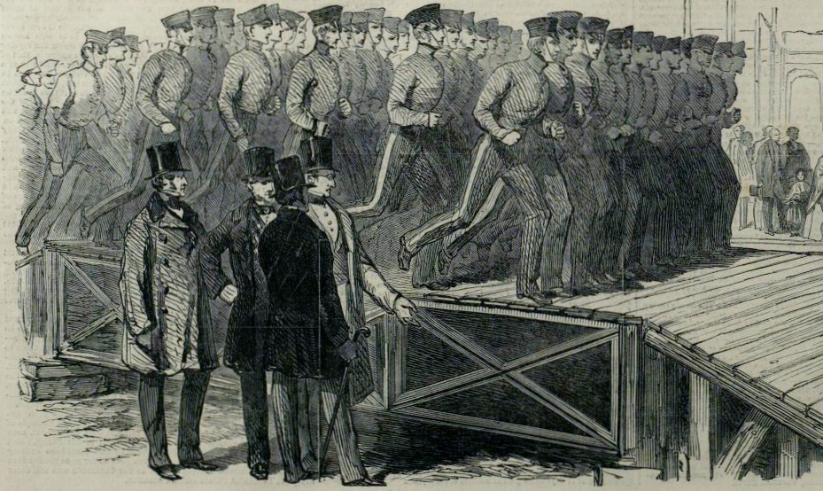 Great Exhibition Test [Illustrated London News 1 Mar 1851]