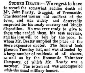 Beatty John [Fremantle Herald 3 Nov 1877]