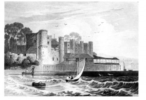 Gardner Upnor Castle 1845