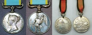 Grain Crimean War Medals