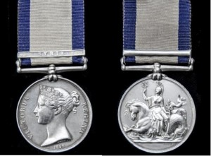 Naval General Service Medal - Syrian Clasp